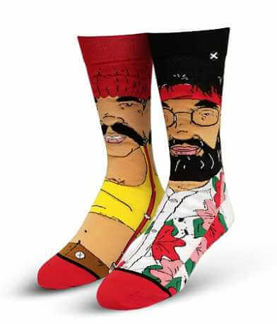 ODD SOX® Hi Guys Cheech & Chong Socks