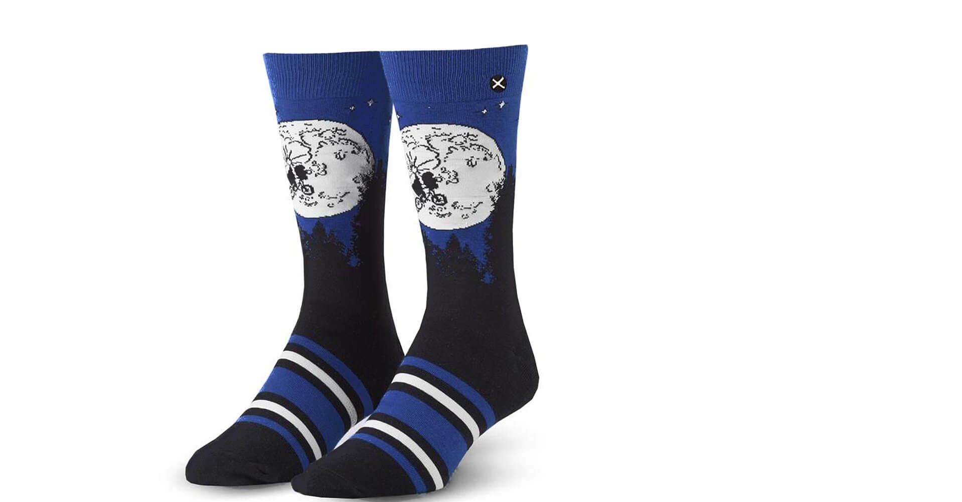 Odd Sox Men's E.T. Escape Socks Black qZopeXm
