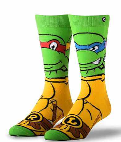 ODD SOX® Retro Ninja Turtles Socks