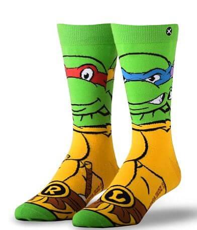 ODD SOX® Retro Ninja Turtles Socks