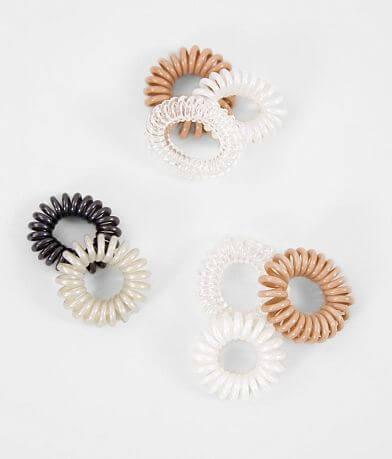 8 Pack Mini Hair Coils