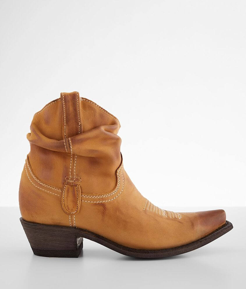 Old Gringo Caido Leather Western Ankle Boot front view