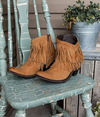 Old Gringo Pandora Leather Western Ankle Boot