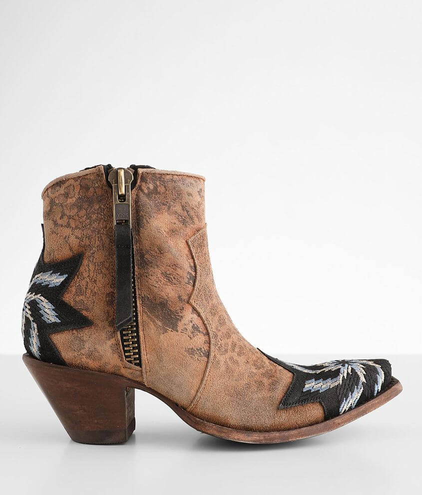 Old Gringo Estella Leather Western Ankle Boot front view