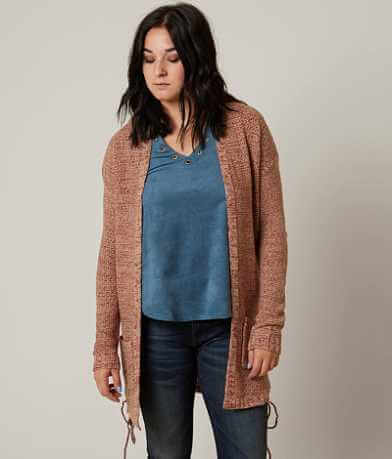 Daytrip Marled Cardigan Sweater