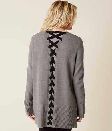 Daytrip Mossy Yarn Cardigan Sweater