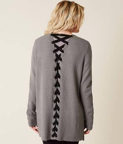 Daytrip Mossy Yarn Cardigan Sweater