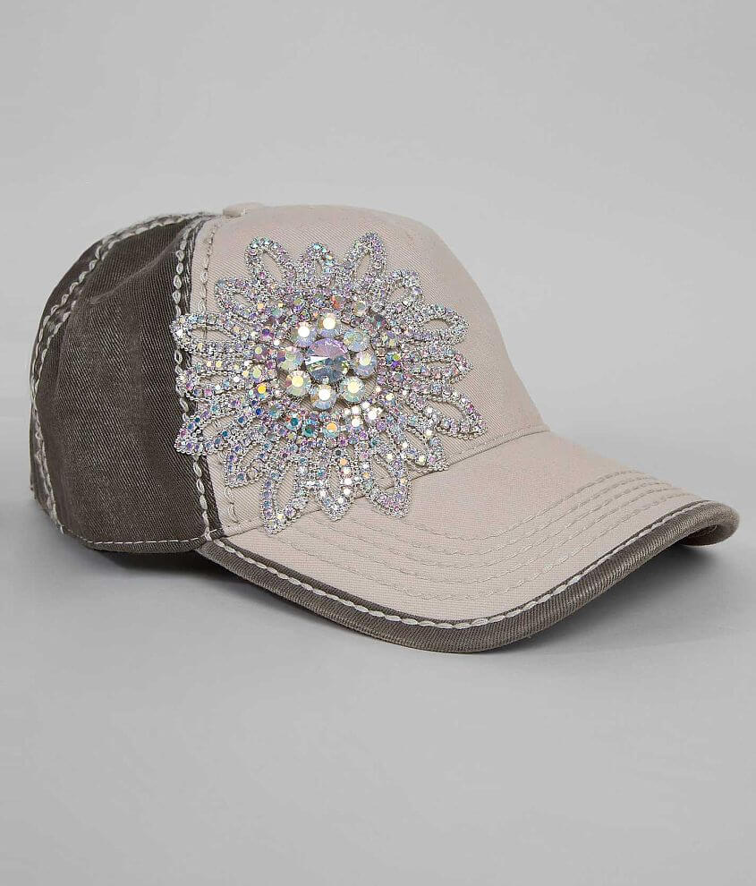 Olive & Pique Bling Hat front view