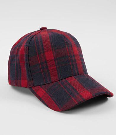 Olive & Pique Plaid Baseball Hat