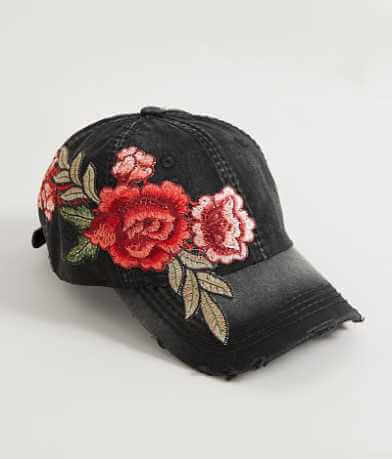 Olive & Pique Embroidered Hat