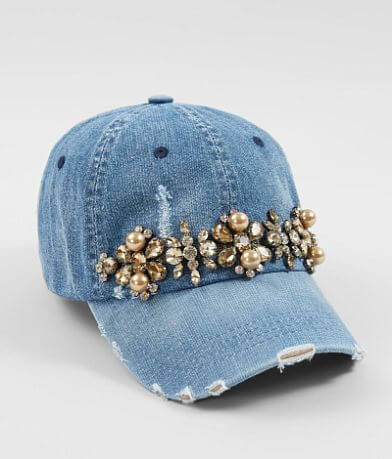 Olive & Pique Denim Baseball Hat