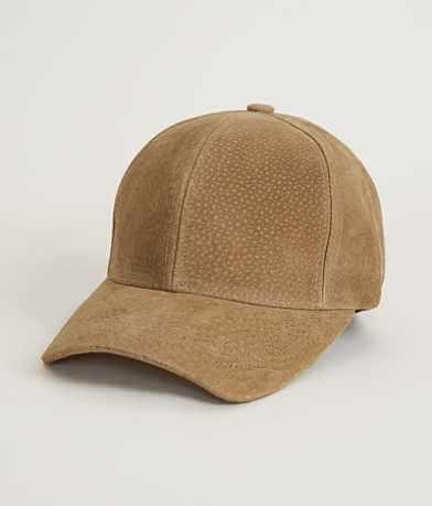 Olive & Pique Suede Baseball Hat