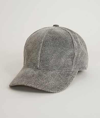 Olive & Pique Leather Baseball Hat