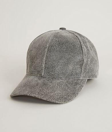 Olive & Pique Leather Baseball Hat