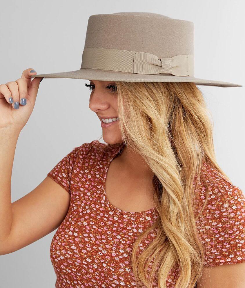 Olive & Pique Vida Panama Hat front view