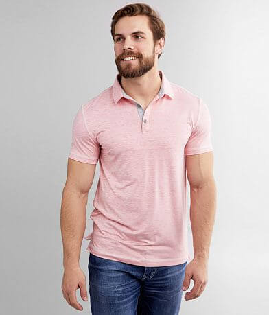 BKE Marled Performance Stretch Polo