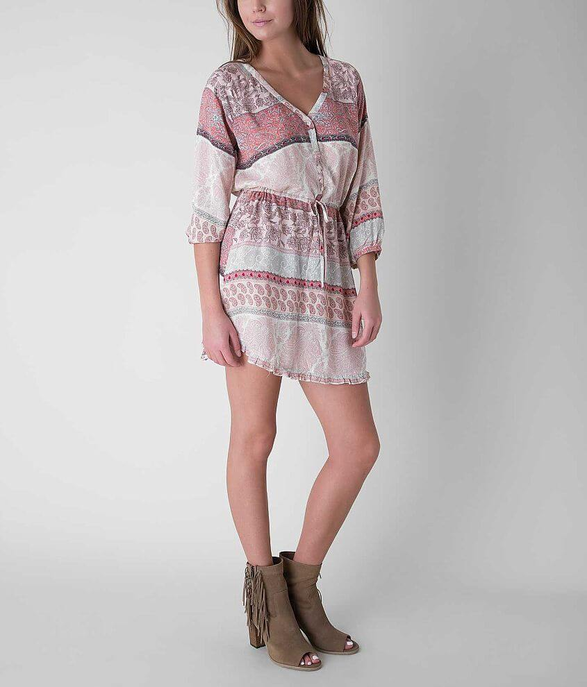 O'Neill Miki Henley Dress front view