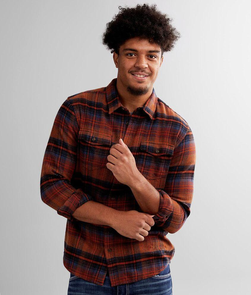 O'Neill Hagler Brushed Flannel Shirt front view