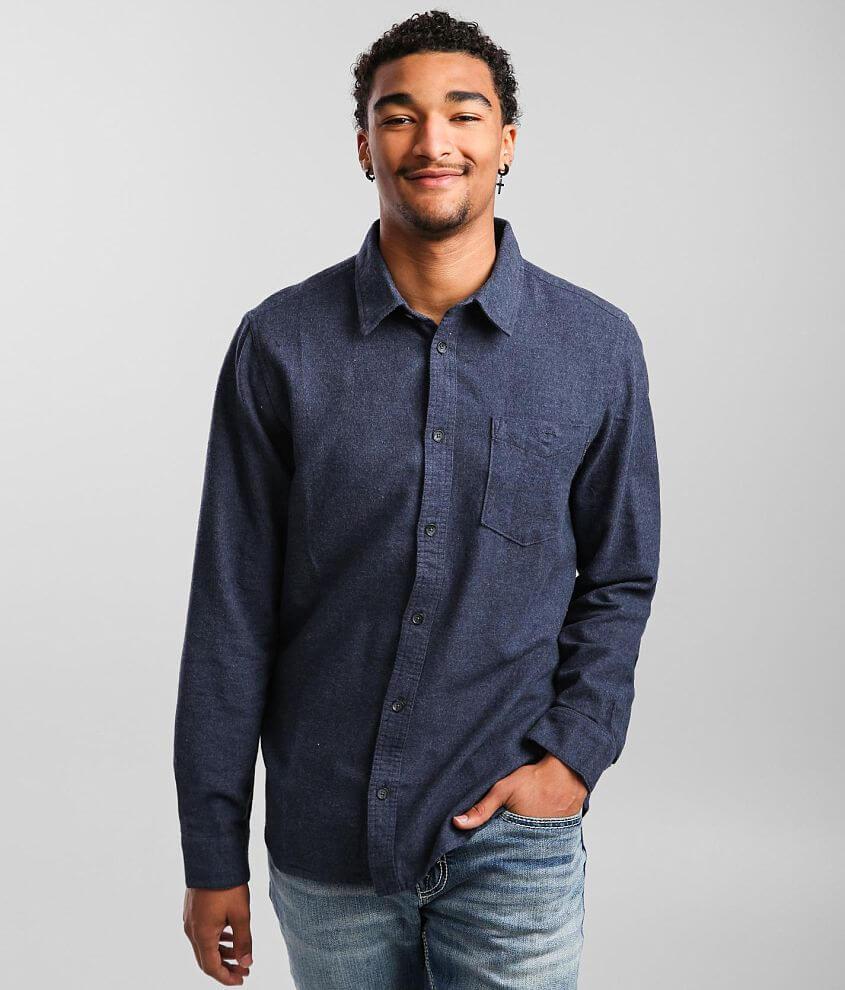 O'Neill Redmond Flannel Shirt front view