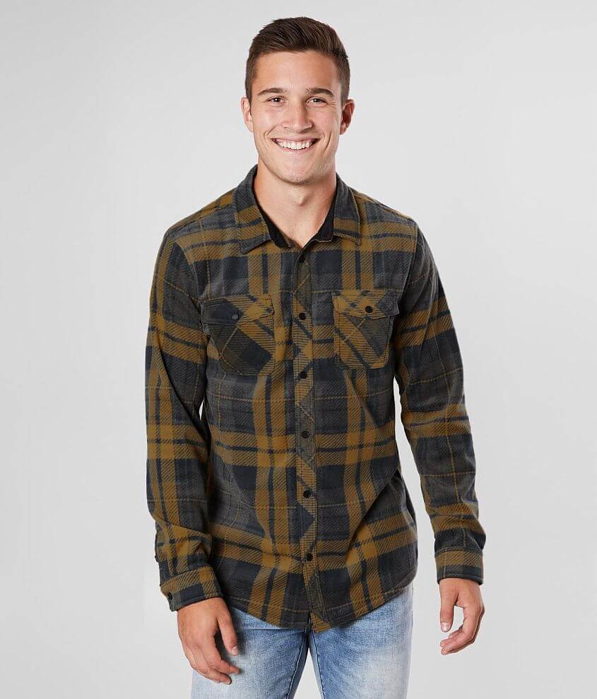 O'Neill Glacier Flannel Shirt front view