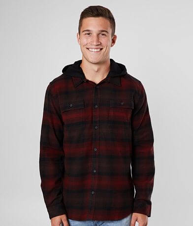 O'Neill Disarm Hooded Flannel Shirt