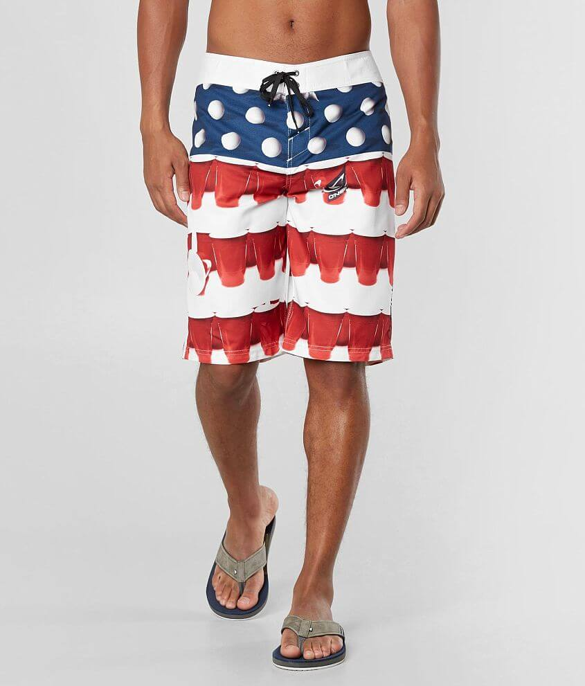 67cafcbe9c O'Neill Murca 2.0 Boardshort - Men's Boardshorts in Red White Blue ...