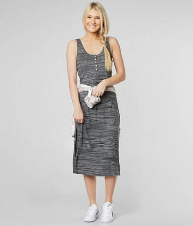 O'Neill Marlene Midi Henley Dress