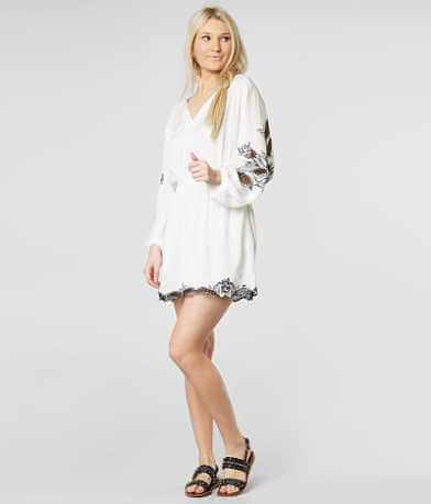 O'Neill Bethanie Embroidered Tunic Top