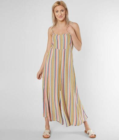 O'Neill Juls Striped Wide Leg Jumpsuit