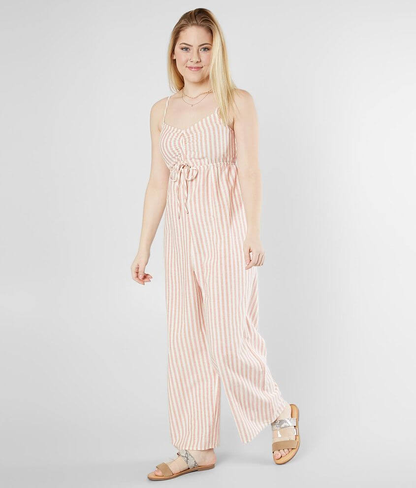 baec32e93d5 O Neill Anabella Striped Wide Leg Jumpsuit - Women s Rompers ...