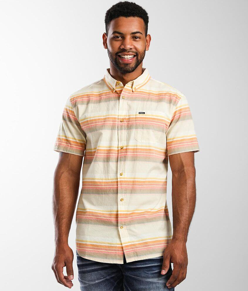 O'Neill Alameda Striped Shirt front view