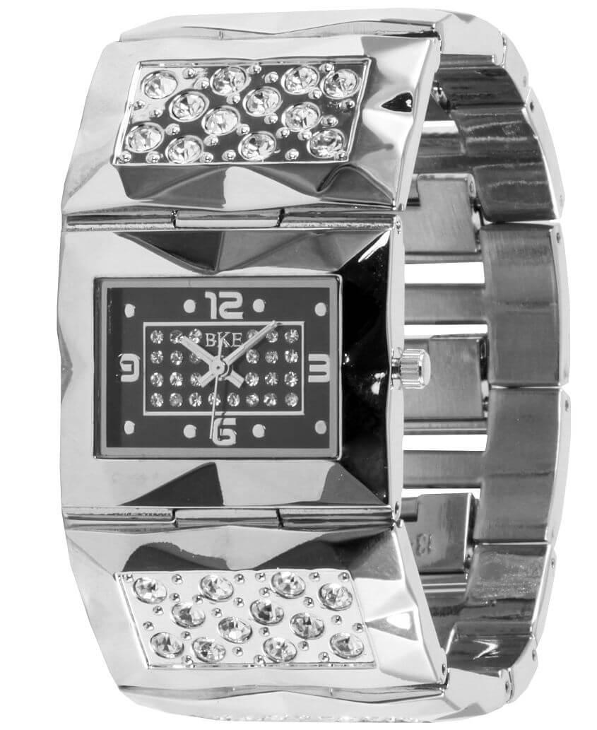 BKE Glitz Bracelet Watch front view