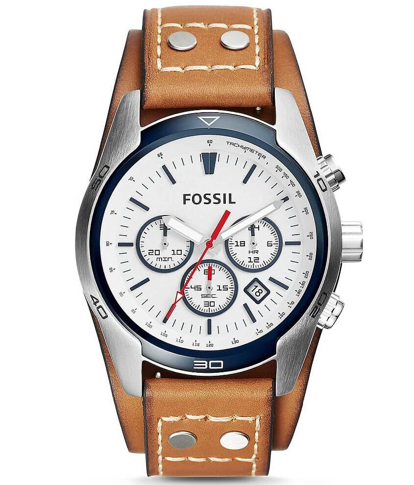 Fossil Coachman Watch front view