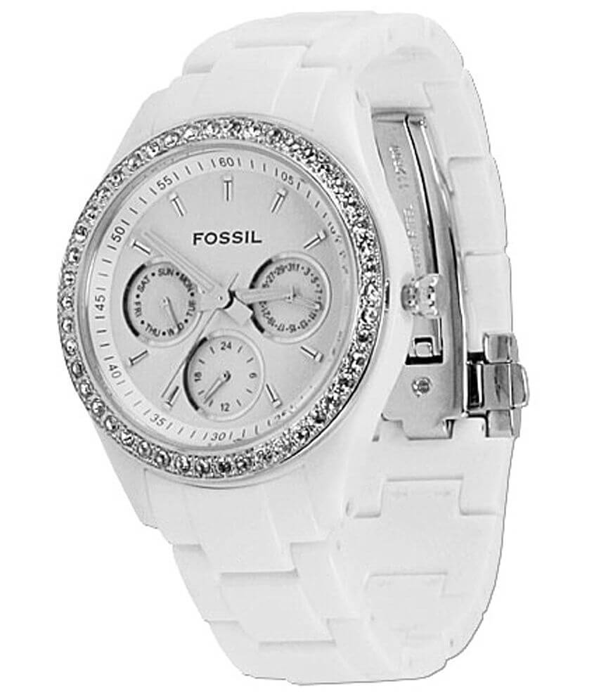 Fossil Plastic Watch front view