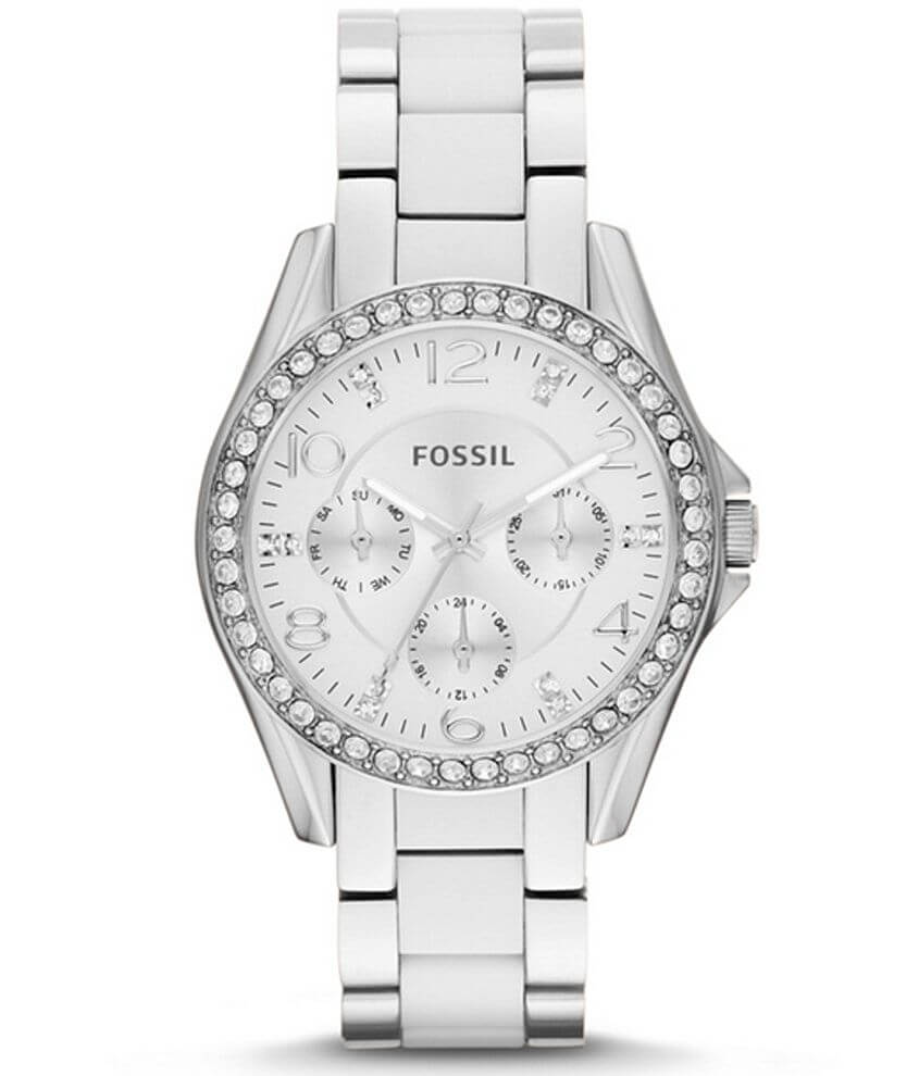Fossil Riley Watch front view