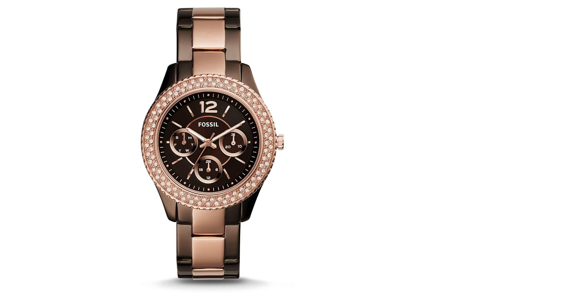Fossil Stella Watch - Women's Watches in Rose Gold | Buckle