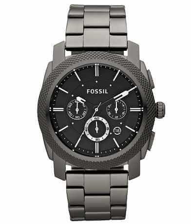 Fossil Machine Smoke IP Watch