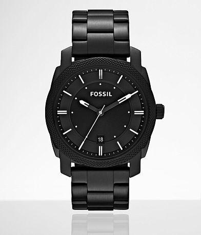 Fossil Machine Black Watch