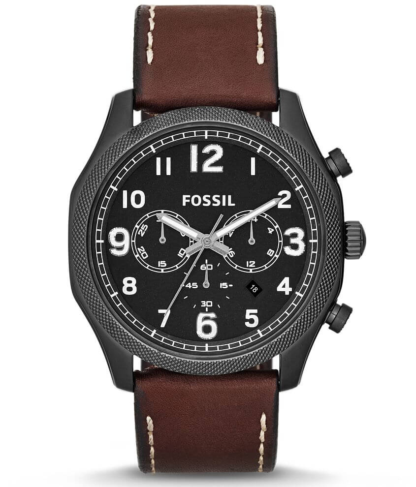 Fossil Foreman Chronograph Watch front view