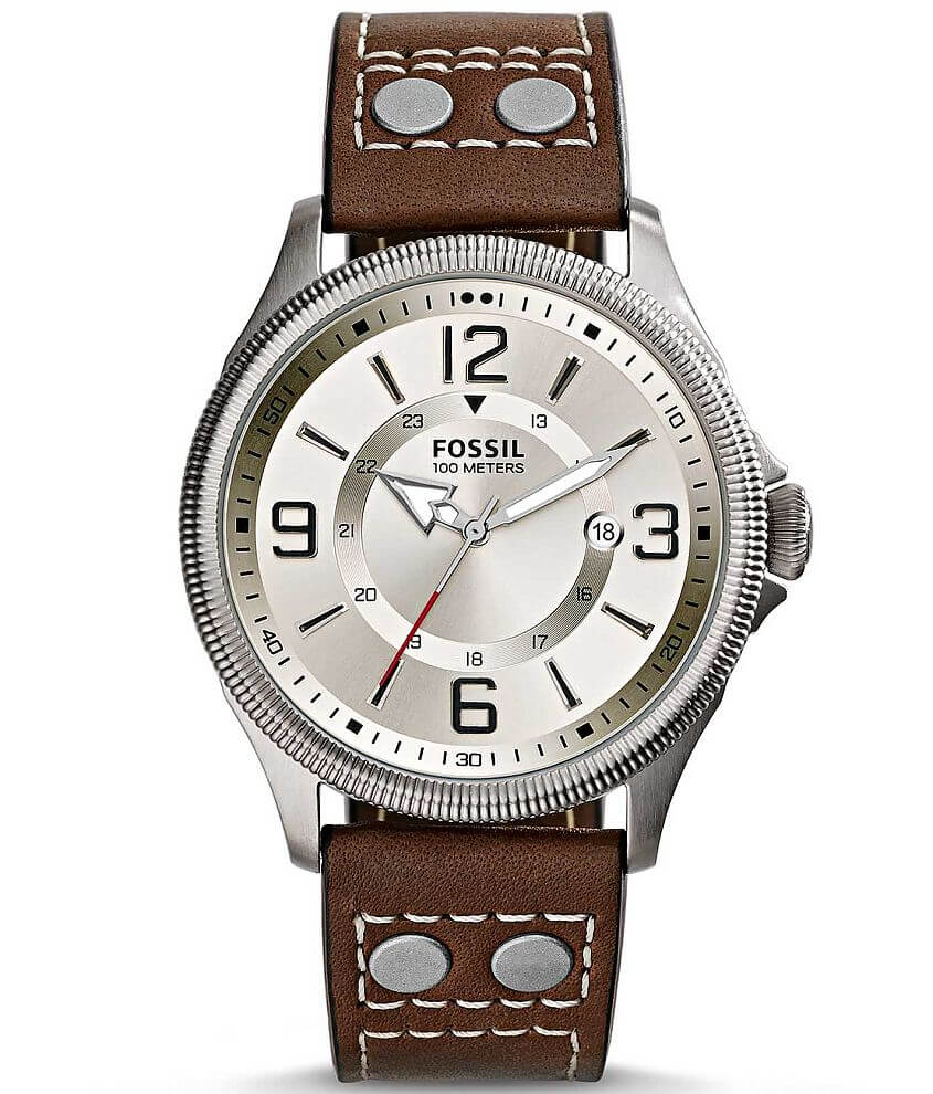 Fossil Recruiter Watch front view