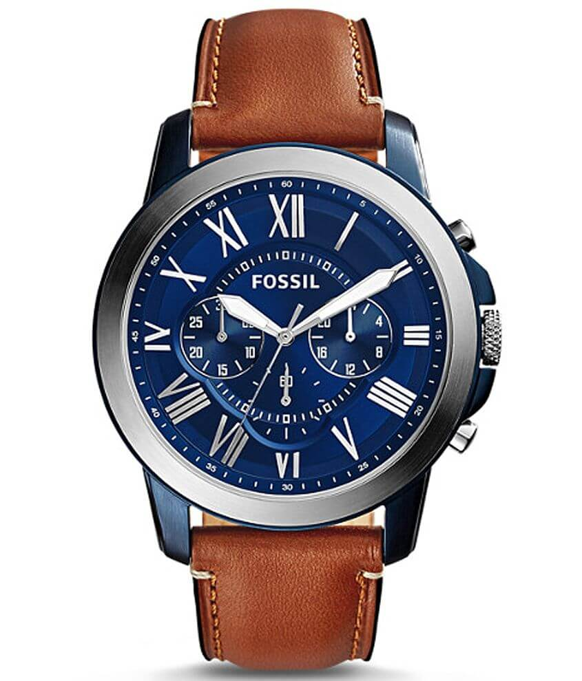 Fossil Grant Watch front view