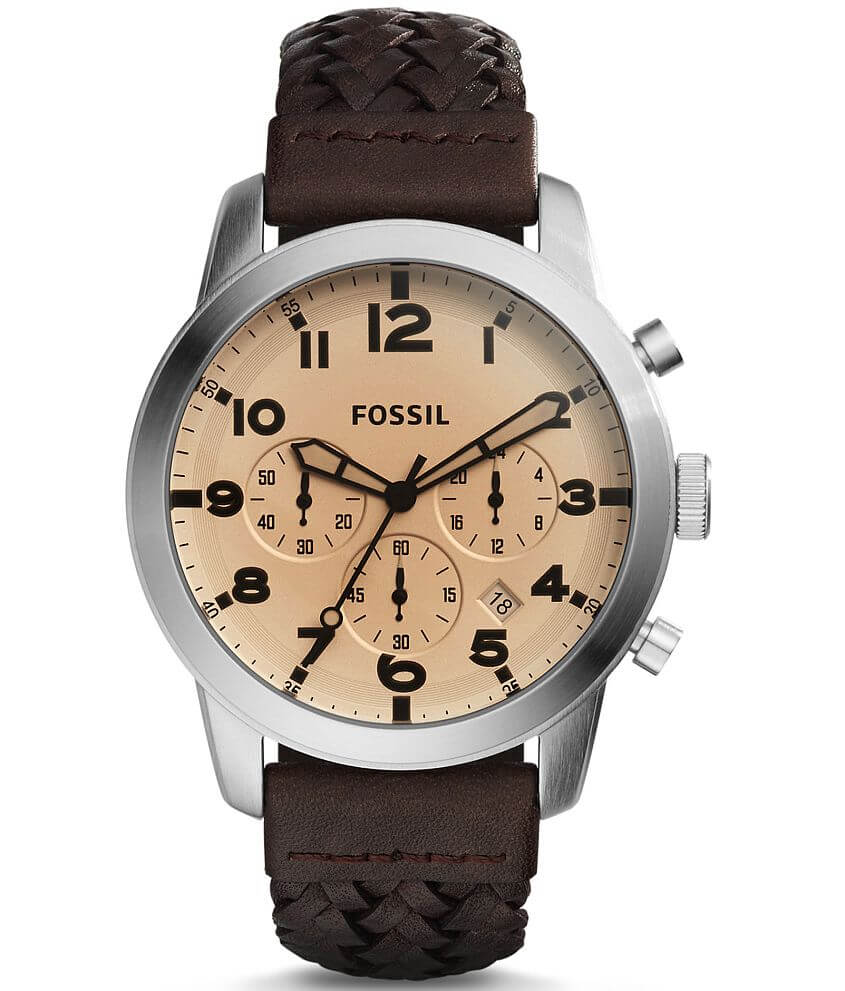 Fossil Pilot Watch front view