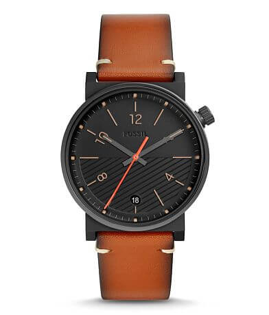 Fossil Barstow Leather Watch