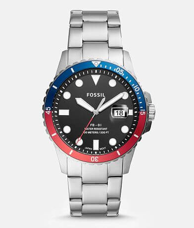 Fossil Color Block Watch