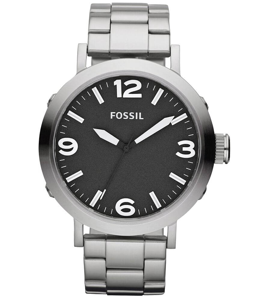 Fossil Clyde Stainless Steel Watch front view