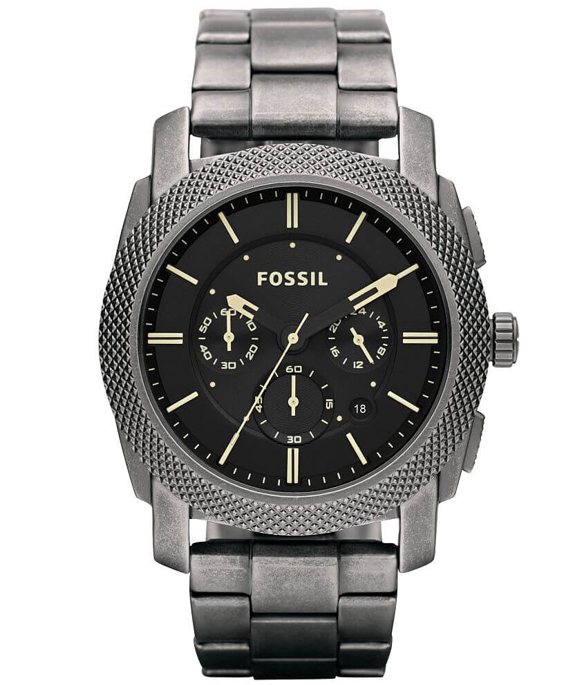 Fossil Machine Watch front view