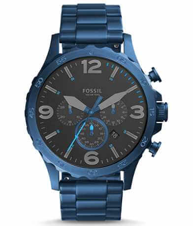 Fossil Nate Chrono Watch