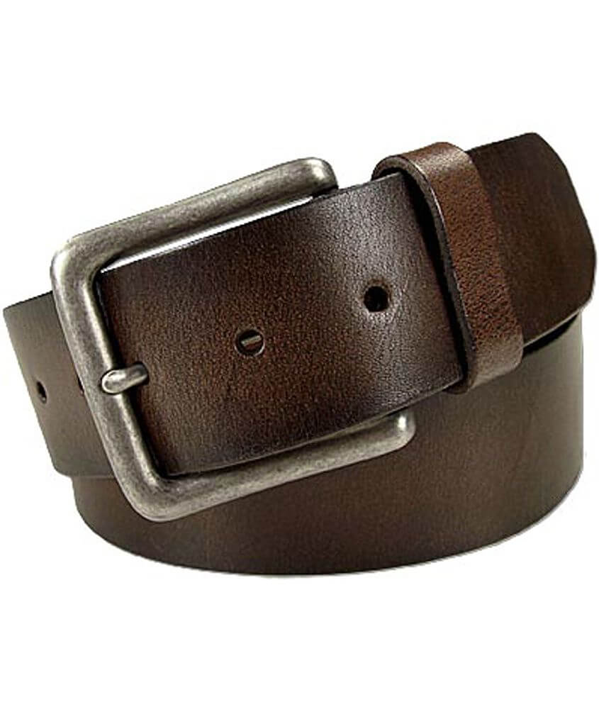 b1c2b1f2a Fossil Colorado Leather Belt - Men's Accessories in Brown | Buckle