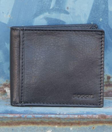 Fossil Ingram Traveler Leather Wallet