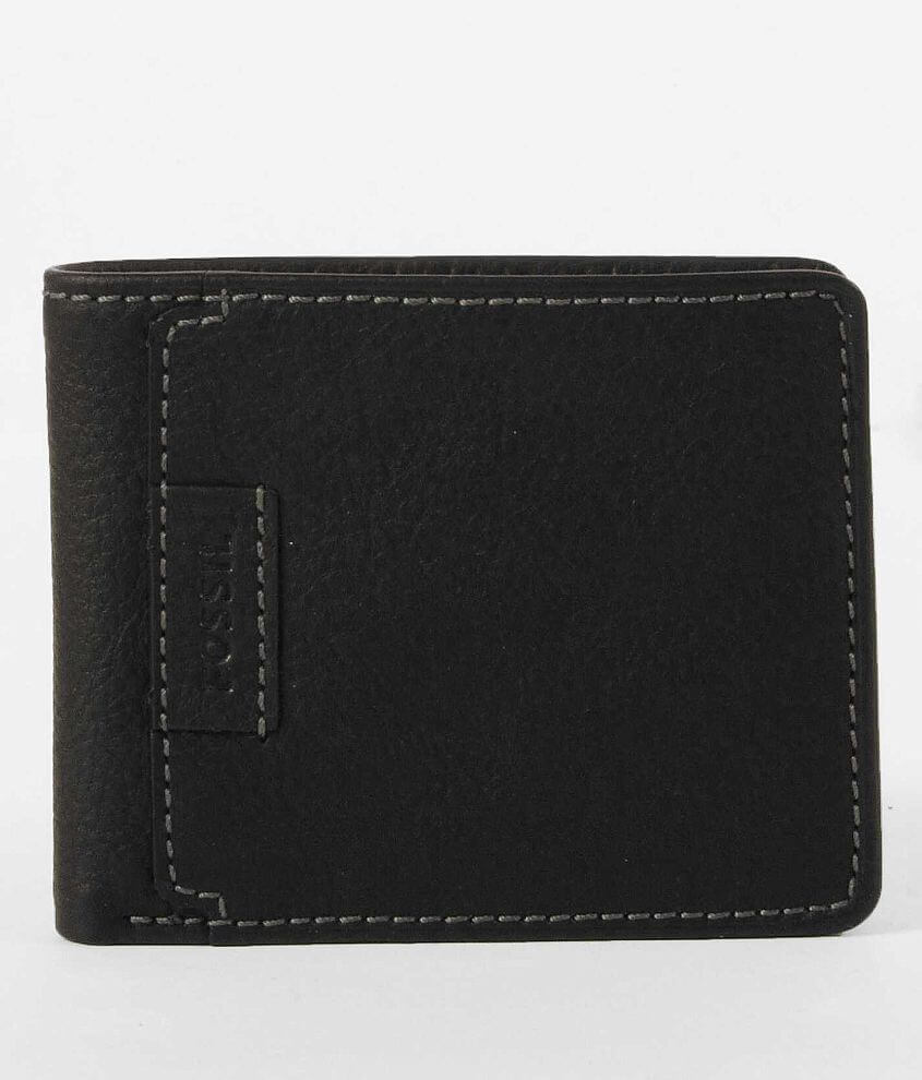 Fossil Browning Traveler Wallet front view